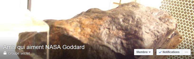 Meteorite-mars.com Groupe Facebook NASA GODDARDD