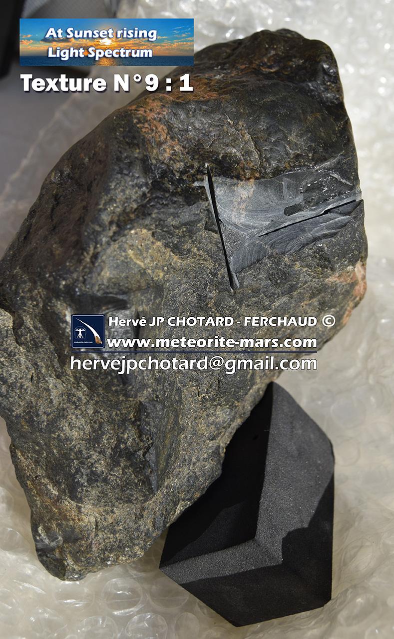 Texture N 9-1 www.meteorite-mars.com