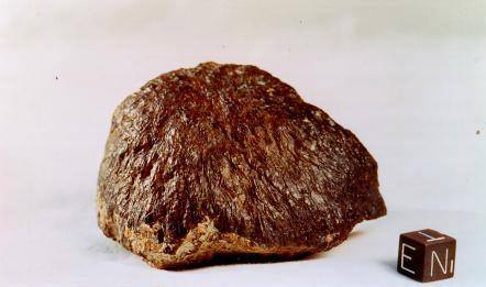 Texture comparative N 5-1 meteorite chizé de mars