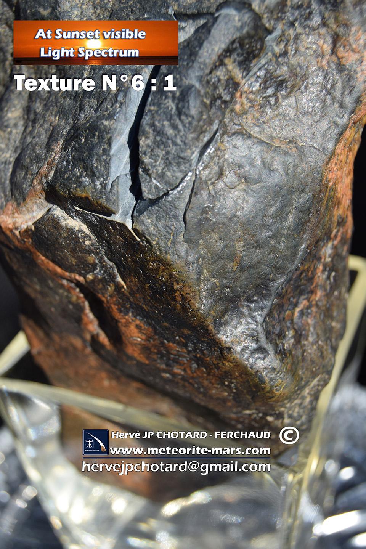 Région Nouvelle aquitaine, Texture N 6-1 www.meteorite-mars.com