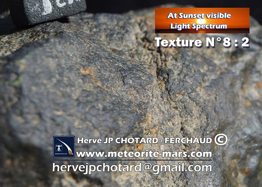 Texture N 8-2 www.meteorite-mars.com