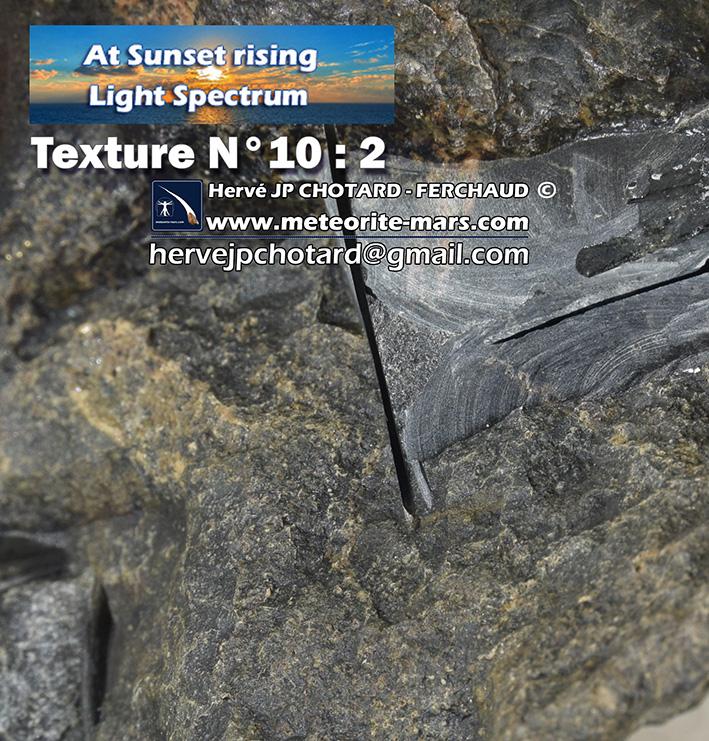 Texture N 10-2 www.meteorite-mars.com