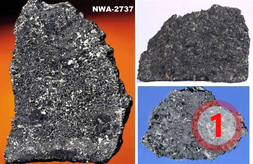 texture comparative N°12-1-1 meteorite-mars.com