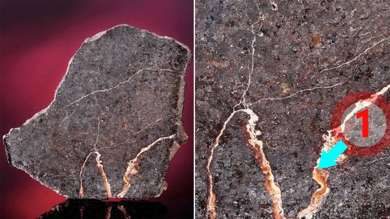 texture comparative N°12-2-1 meteorite-mars.com
