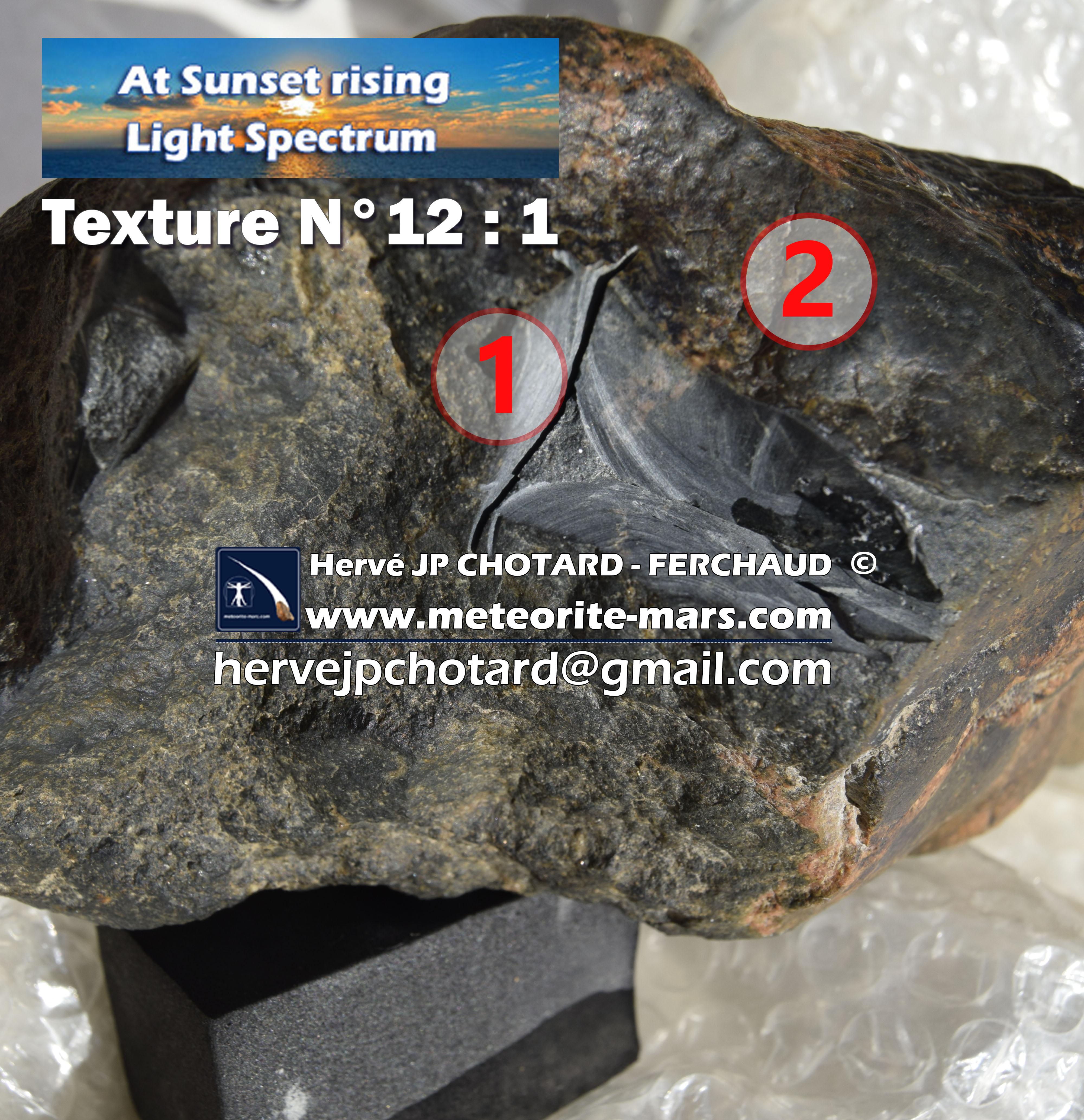 texture N°12-1 meteorite-mars.com