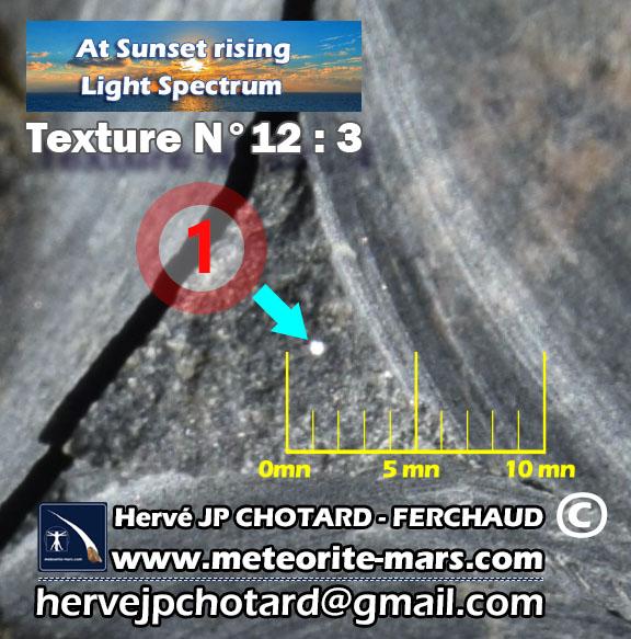 texture N°12-3 meteorite-mars.com