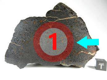 Texture comprative N°13-1-1 meteorite-mars.com