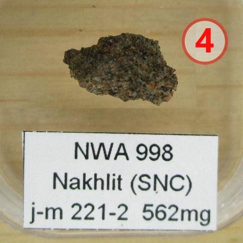 Texture comparative N°13-1-4 meteorite-mars.com