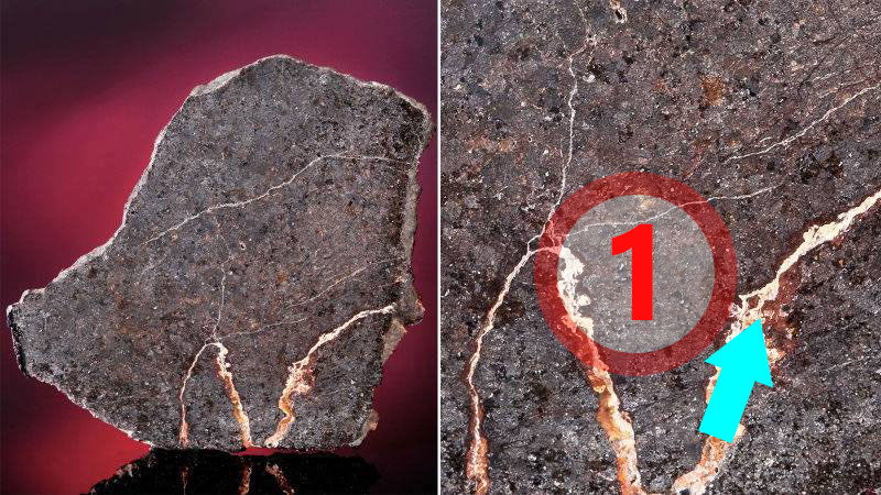 Texture comparative N°13-2-1 meteorite-mars.com