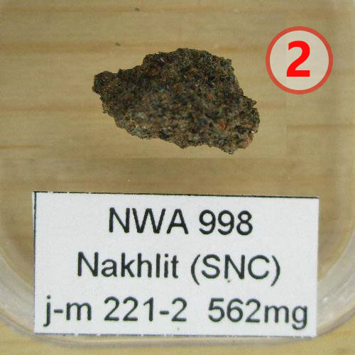 Texture comparative N°13-2-2 meteorite-mars.com