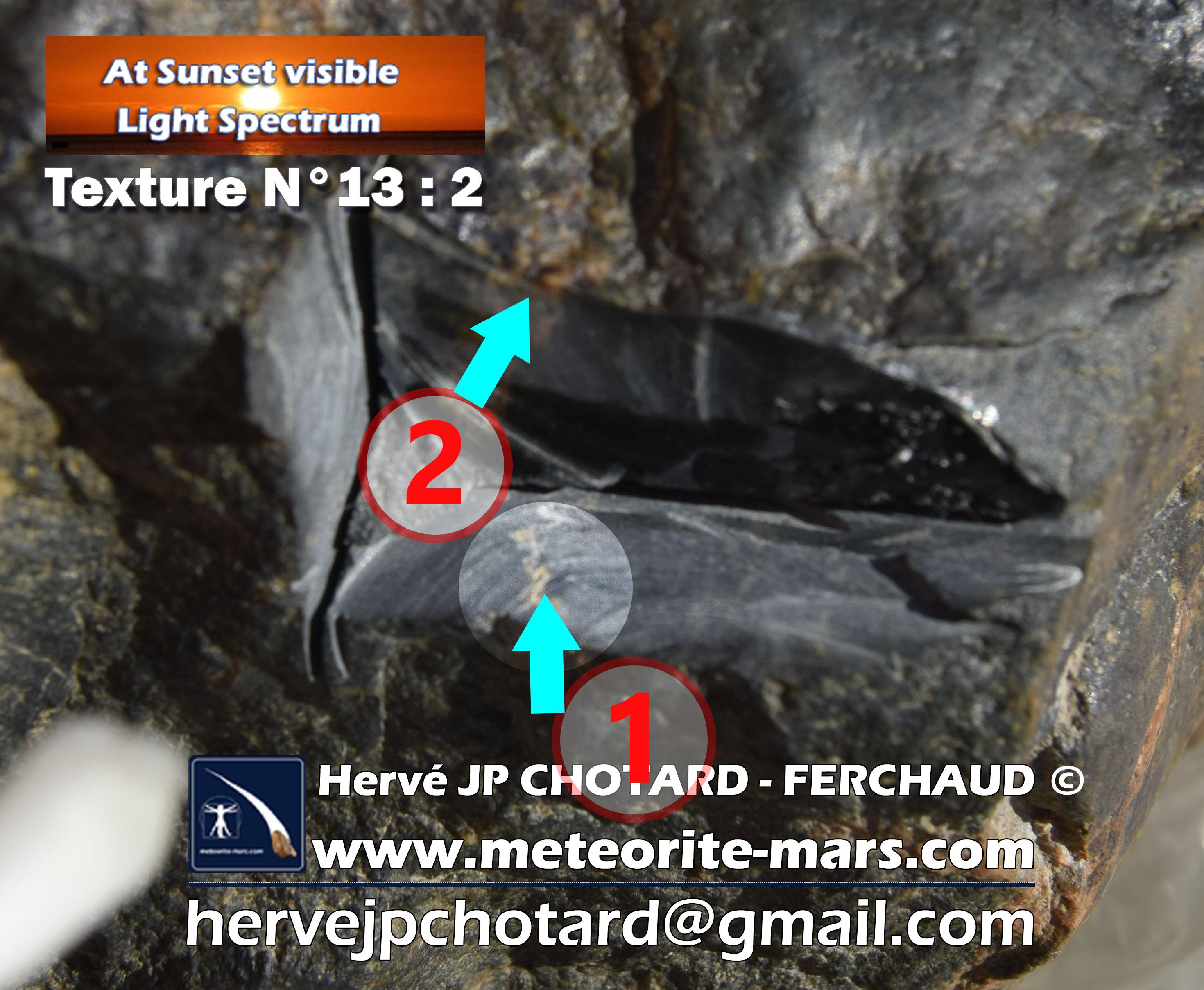 Texture N°13-2 meteorite-mars.com