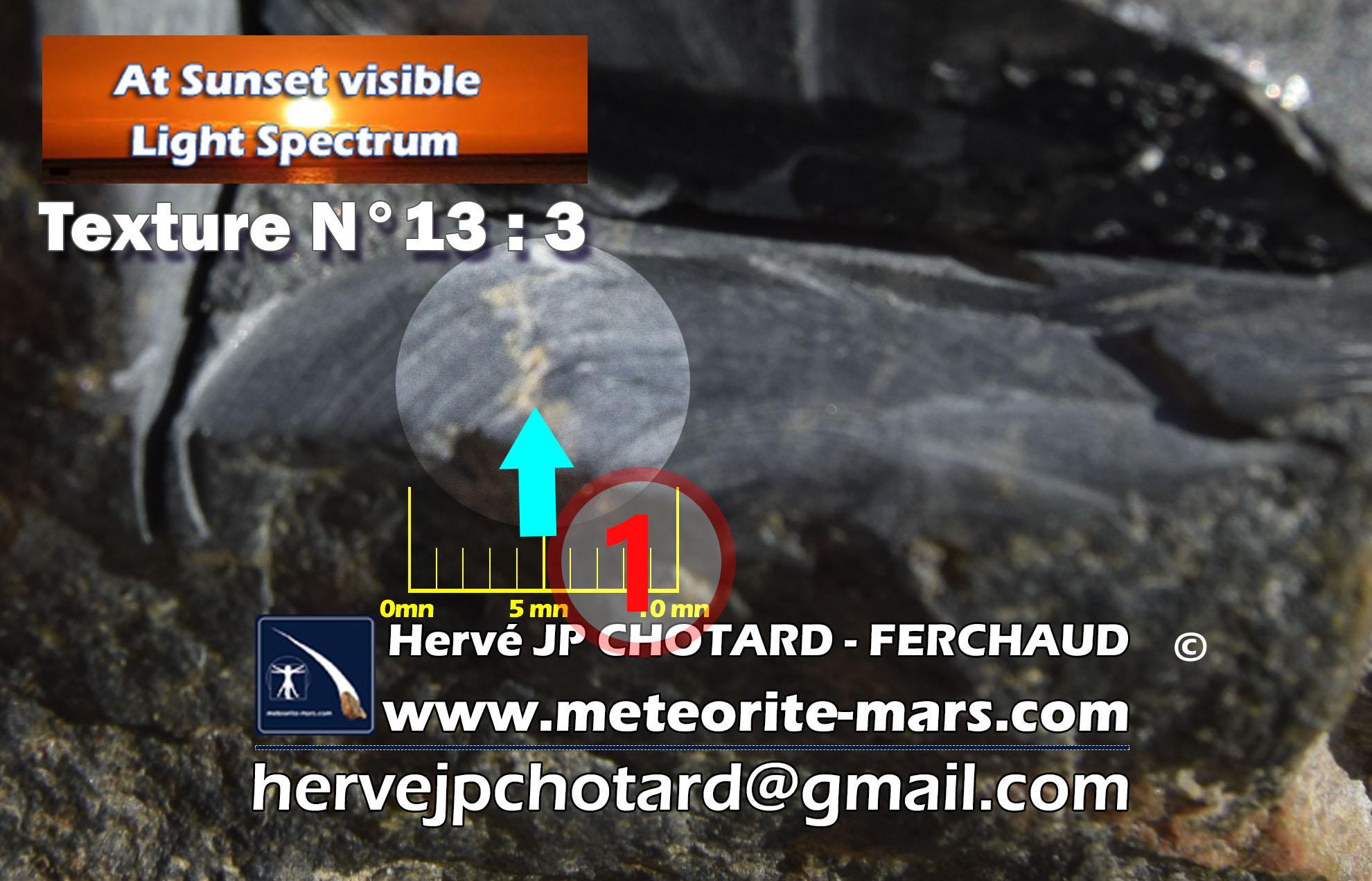 texture N°13-3 meteorite-mars.com