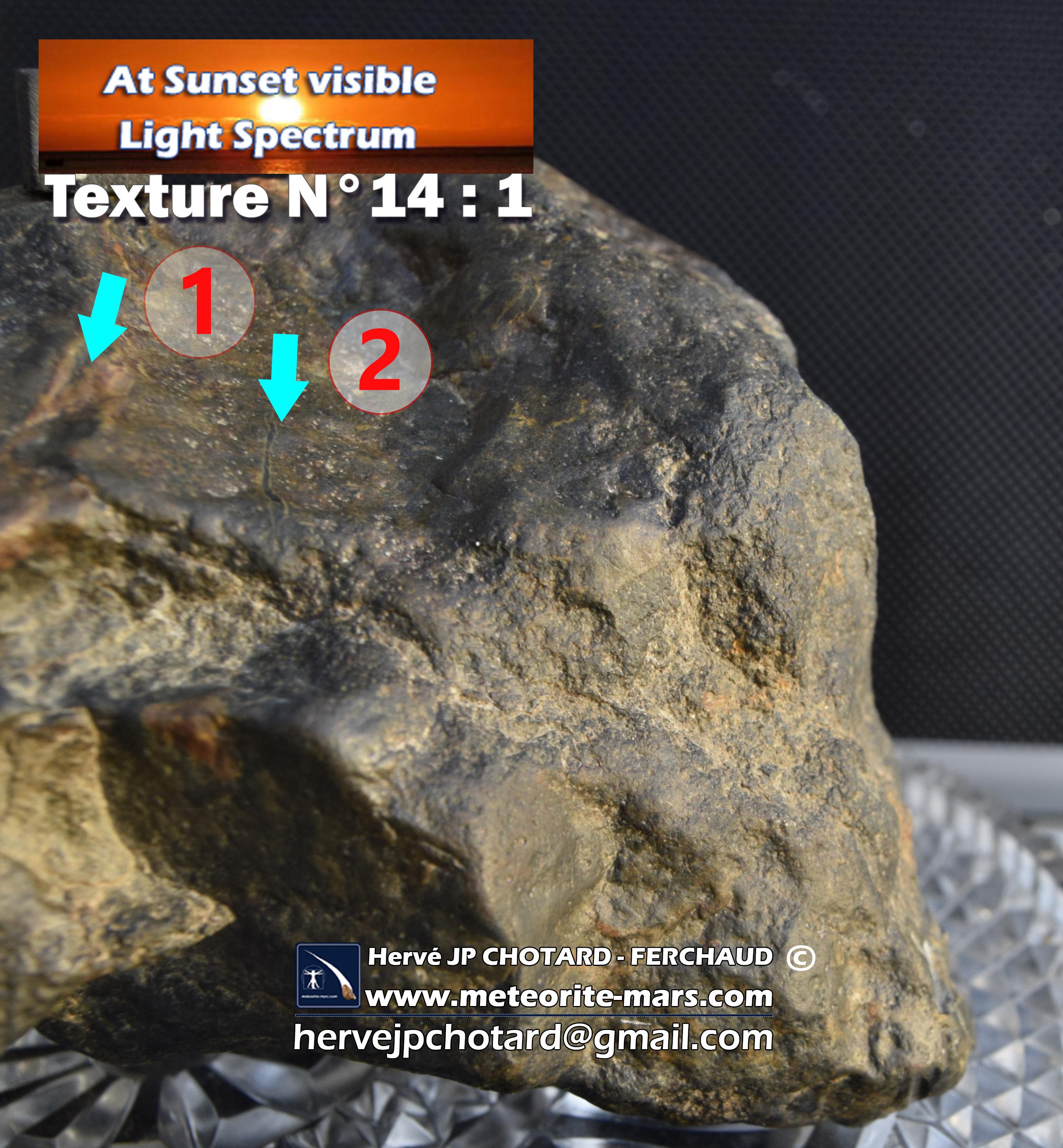 Texture N°14-1 meteorite-mars.com