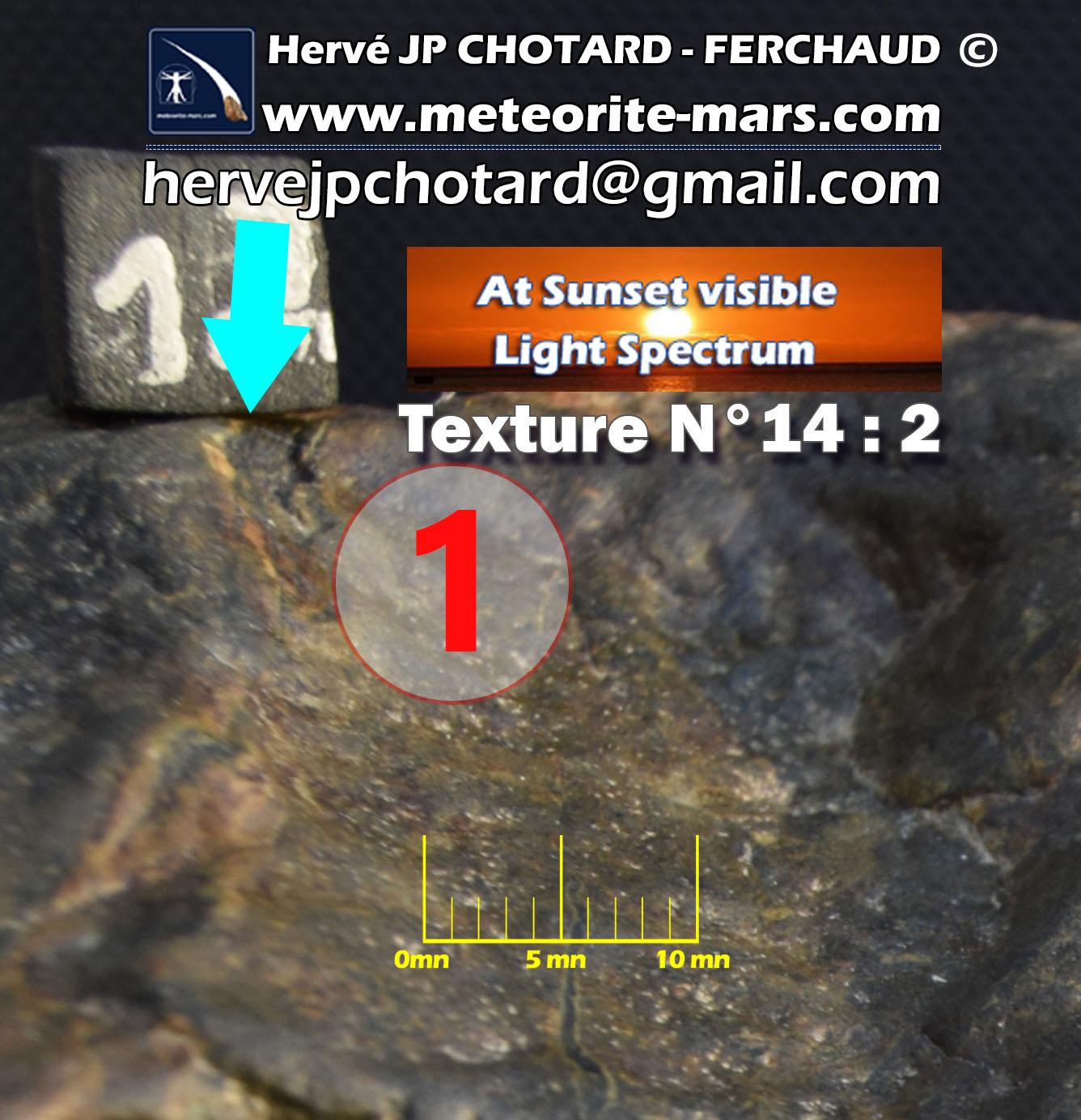Texture N°14-2 meteorite-mars.com