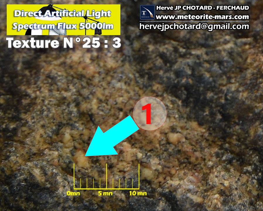 Texture N 25-3 – meteorite-mars.com